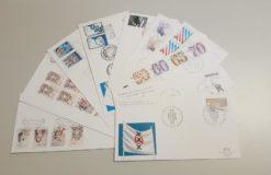 Nederland 1982 Complete Jaargang Eerste Dag Enveloppen