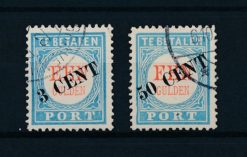 Nederland 1906-1910 Overdruk NVPH P27-P25