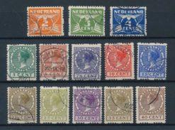Nederland 1926-1927 Tweezijdige Roltanding met watermerk R19-R31