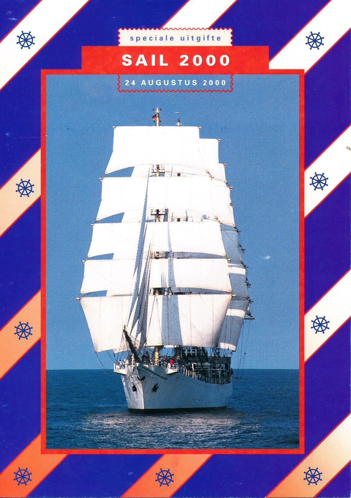 Nederland 2000 Themamapje Sail 2000