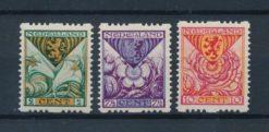 Nederland 1925 Kinderzegels R71-R73 Postfris