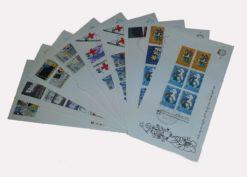 Nederland 1983 Complete Jaargang Eerste Dag Enveloppen