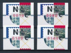 Nederland 1997 Nagler Automaatstroken AU32