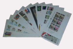 Nederland 1984 Complete Jaargang Eerste Dag Enveloppen