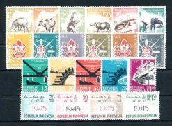 Indonesie 1959 Complete jaargang postzegels postfris