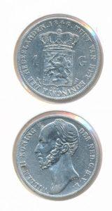 Nederland Zilveren Gulden 1846 Zwaard Willem II
