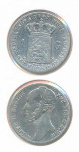 Nederland Zilveren Gulden 1847 Willem II