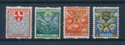 Nederland 1926 Kinderzegels R74-R77 Postfris