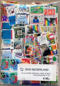 Nederland samenstelling van 2000 Verschillende Postzegels