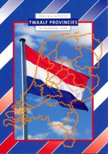 Nederland 2002 Themamapje Twaalf provincies