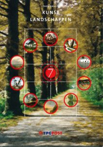 Nederland 2002 Themamapje 7 Kunst landschappen