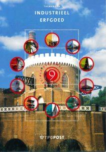 Nederland 2002 Themamapje 9 Industrieel erfgoed