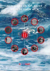 Nederland 2003 Themamapje 11 Nederland en het water door de jaren
