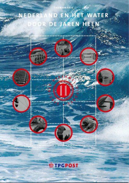 Nederland 2003 Themamapje 11 Nederland en het water door de jaren 1