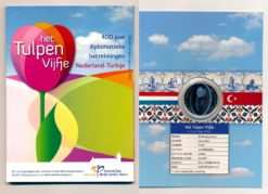 Nederland 2012 5 Euro Tulpen Vijfje Proof in blister