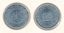 Republiek Suriname 1977 1 Cent