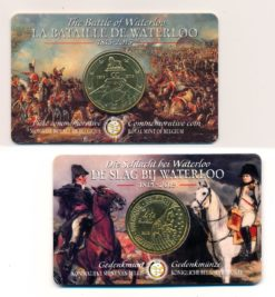 Belgie 2015 2 Euro Slag bij Waterloo BU Coincard
