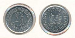 Republiek Suriname 1979 25 Cent