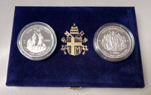 Vaticaan 1996 Heilig jaar 2000 Anno Santo Proof Zilver set 1