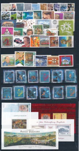 Oostenrijk 2005 Complete jaargang  postfris 1