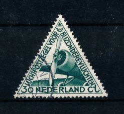 Nederland 1933 Luchtpost Bijzondere vluchten LP10 gestempeld