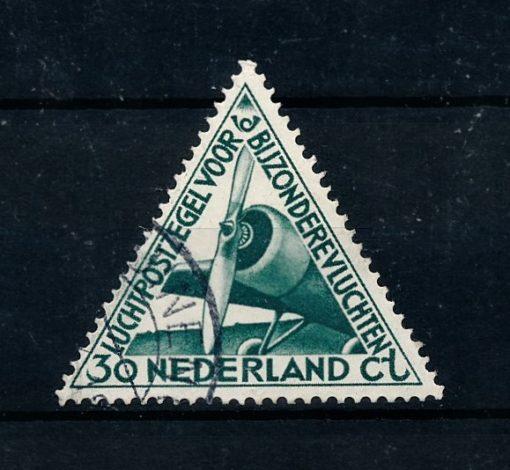 Nederland 1933 Luchtpost Bijzondere vluchten LP10 gestempeld 1