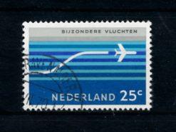 Nederland 1966 Luchtpost Bijzondere vluchten LP15 gestempeld