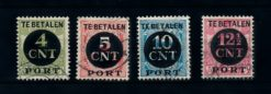 Nederland 1924 Portzegels P65-P68 gestempeld