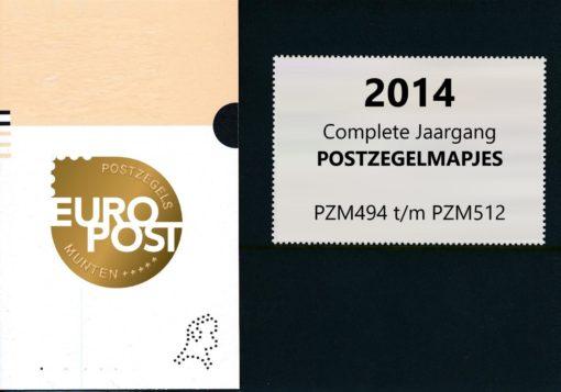 Nederland 2014 Complete Jaargang Postzegelmapjes 1