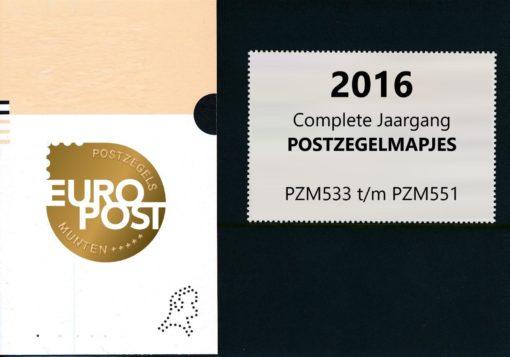Nederland 2016 Complete Jaargang Postzegelmapjes 1