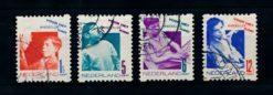 Nederland 1931 Kinderzegels roltanding R90-R93 gestempeld