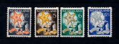 Nederland 1933 Kinderzegels roltanding R98-R101 ongebruikt