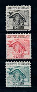 Nederland 1929 Luchtpost Mercurius LP6-LP8 ongebruikt