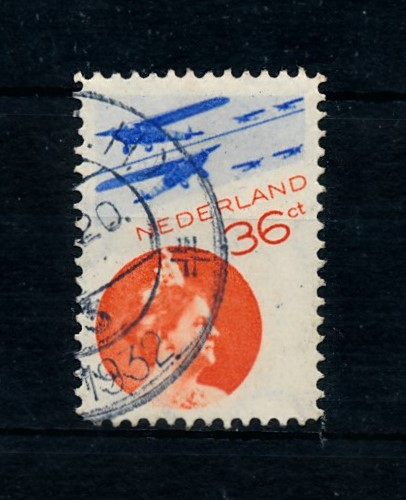 Nederland 1931 Luchtpost Fotomontage LP9 gestempeld 1