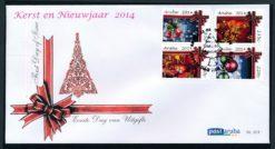 Aruba 2014 FDC Kerst en Nieuwjaar  E 201