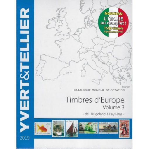 yvert-tellier-postzegelcatalogus-van-europa-deel-3-ingrie-pays-bas-tome-europa-3