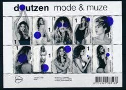 Nederland 2016 Mode en muze velletje NVPH V3462-71