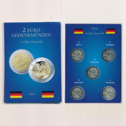 105108 Duitsland 2019 2 Euro Muur serie