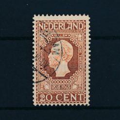 Nederland 1913 Jubileumzegels 100 jaar onafhankelijkheid. 20 ct bruin NVPH 95 Gestempeld