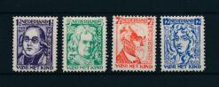 Nederland 1928 Kinderzegels NVPH 220-223 Ongebruikt