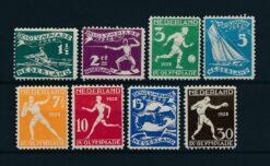 Nederland 1928 Olympiade Amsterdam NVPH 212-219 Ongebruikt