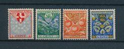 Nederland 1926 Kinderzegels provinciewapens NVPH 199-202 Ongebruikt