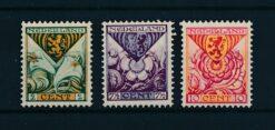 Nederland 1925 Kinderzegels provinciewapens NVPH 166-168 Ongebruikt