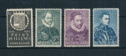 Nederland 1933 Herdenkingszegels NVPH 252-255 Ongebruikt