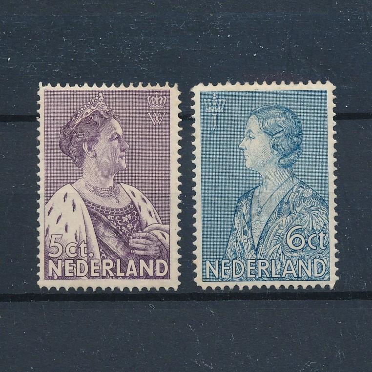 Nederland 1934 Crisiszegels NVPH 265-266 Ongebruikt