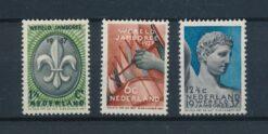 Nederland 1937 Wereld Jamboree Vogelenzang NVPH 293-295 Ongebruikt