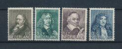 Nederland 1937 Zomerzegels NVPH 296-299 Ongebruikt