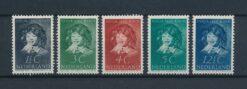 Nederland 1937 Kinderzegels NVPH 300-304 Ongebruikt