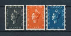 Nederland 1938 40 jarig regeringsjubileum Koningin Wilhelmina NVPH 310-312 Ongebruikt