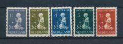 Nederland 1940 Kinderzegels NVPH 374-378 Ongebruikt